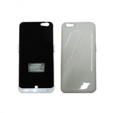 POWER CASE COVER IPHONE 6 PLUS-5800mAh WHITE