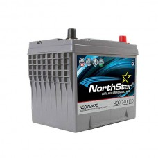 PURE LEAD BATTERY NORTHSTAR 12V 60AH 740CCA(-18°C)
