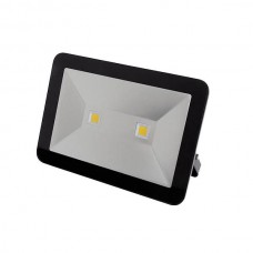 LED FLOOD LIGHT 100W ZWART, NEUTRAALWIT